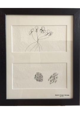 Crown pen & ink drawings Memories