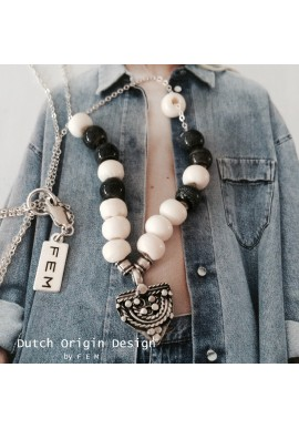 Necklace: Denim Days €89,-