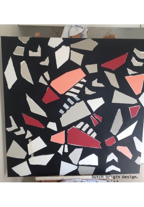 """PROCESS:Painting """"Tomodachi"""""""
